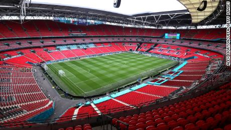 Euro 2020 final: 'Security breach' at Wembley Stadium as small group of people enters venue