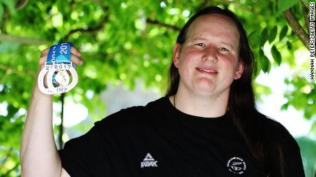 """Weightlifter Laurel Hubbard told Radio NZ in 2017: """"I'm not here to change the world."""""""