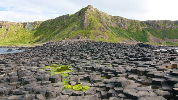 The Giant's Causeway on the Antrim coast is Northern Ireland's most visited tourist attraction.