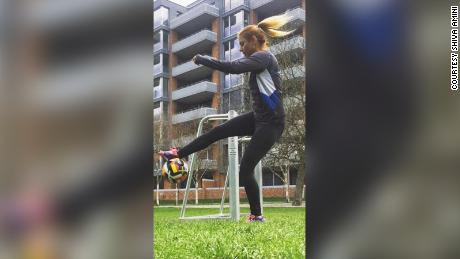 In 2017, soccer player Shiva Amini was forced to apply for asylum in Switzerland because she was observed playing without the compulsory hijab while outside of Iran.
