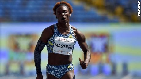 Beatrice Masilingi's 49.53 seconds in Zambia in April is the third-fastest 400m time of the year.