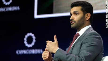 Hassan Al Thawadi -- Secretary General, Supreme Committee for Delivery & Legacy -- is responsible for leading the the 2022 World Cup preparations. He's pictured speaking onstage during the 2019 Concordia Annual Summit at the Grand Hyatt New York on September 24, 2019 in New York City.