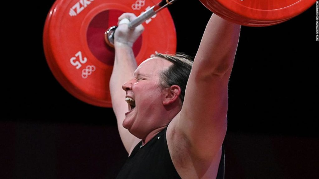 Laurel Hubbard becomes first out transgender woman to compete at the Olympics