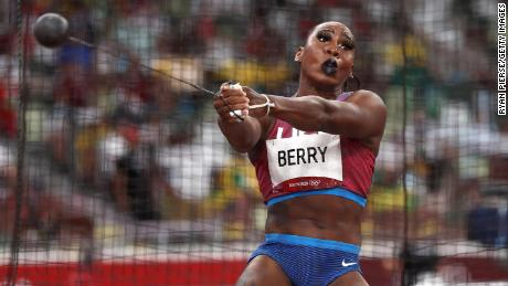 Berry says she is now more than just an athlete.