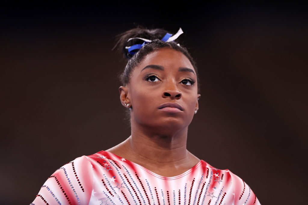 Simone Biles reveals her aunt unexpectedly died during the Olympics