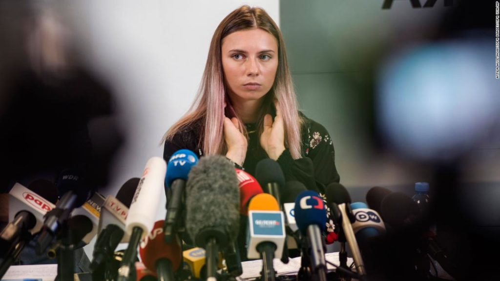 Kristina Timanovskaya: Two Belarusian officials stripped of accreditation and removed from Olympic Village by IOC