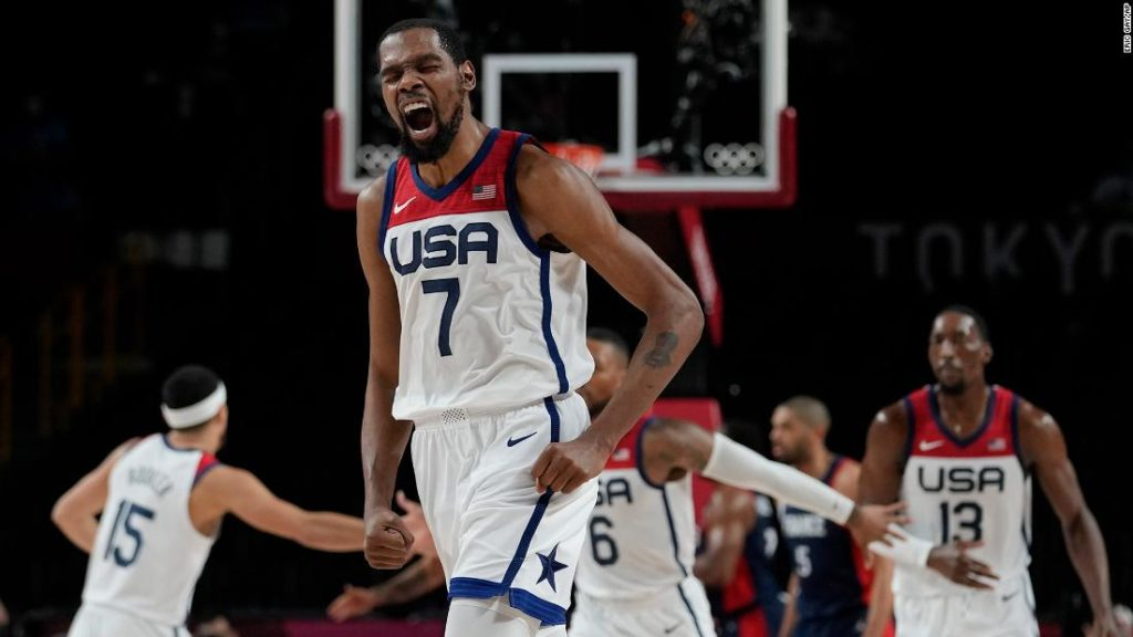 Team USA wins gold in men's basketball for the fourth Olympics in a row
