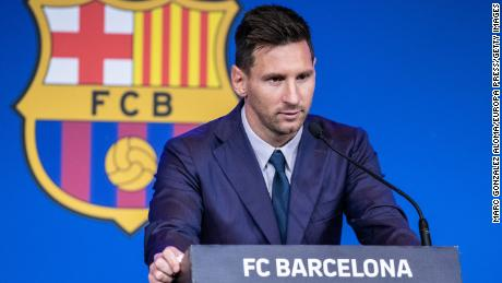 """Lionel """"Leo"""" Messi reflects on his 21 years at Barcelona."""