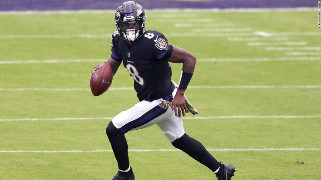 QB Lamar Jackson noncommittal about Covid-19 vaccine after contracting virus twice
