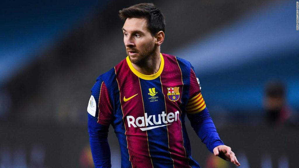 Lionel Messi completes move to Paris Saint-Germain, according to French media reports
