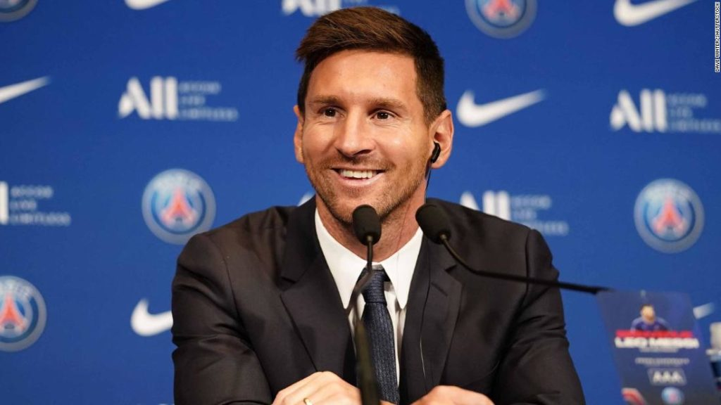 Lionel Messi tells CNN he believes PSG is the best place for him to win UCL again