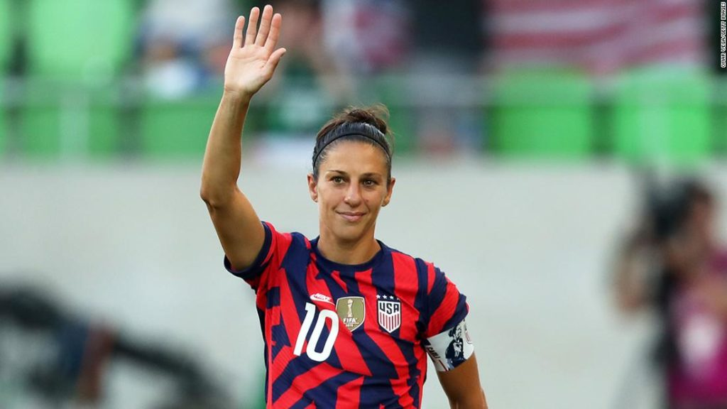 Carli Lloyd: United States Women's National Team great to retire from football