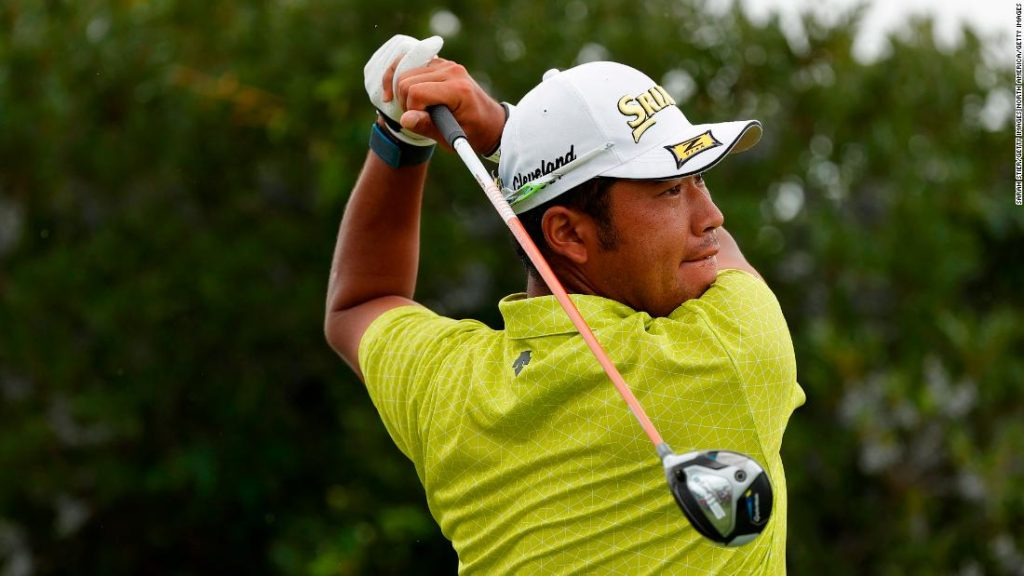Hideki Matsuyama: Ball hit by 2021 Masters champion lands in spectator's shirt