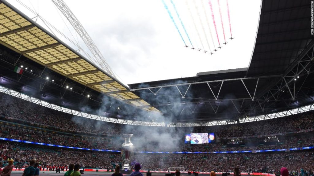 """Euro 2020 final at Wembley was a """"superspreader"""" event"""