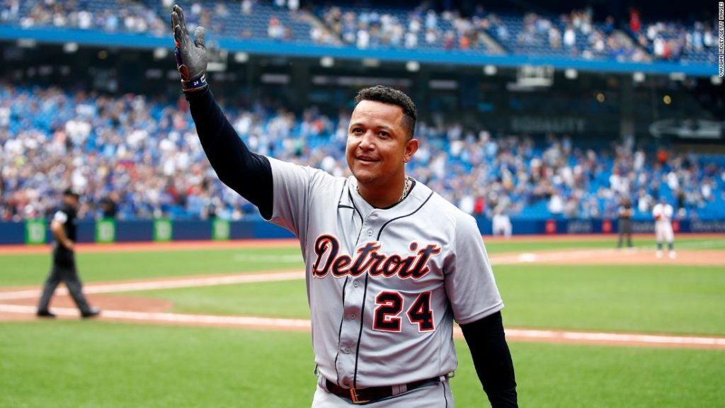 Miguel Cabrera: Detroit Tigers first baseman becomes the 28th player to join the 500 home run club