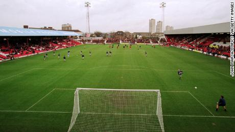 When the Premier League was but a distant dream ... Brentford take on Chester City on November 28, 1998 at Griffin Park.