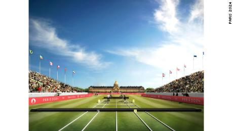 Les Invalides will host archery at Paris 2024.