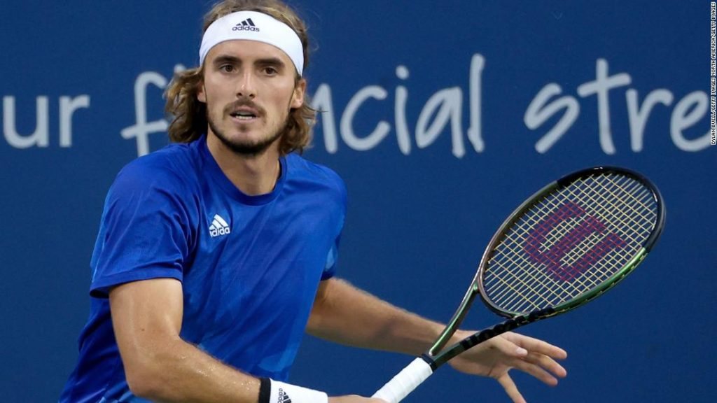 Stefanos Tsitsipas: Greek government pushes back on tennis star's vaccine comments