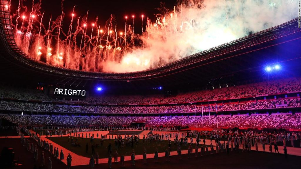 The 2020 Olympics in Tokyo