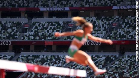 Spectators were absent for the majority of events during the Tokyo Olympics.