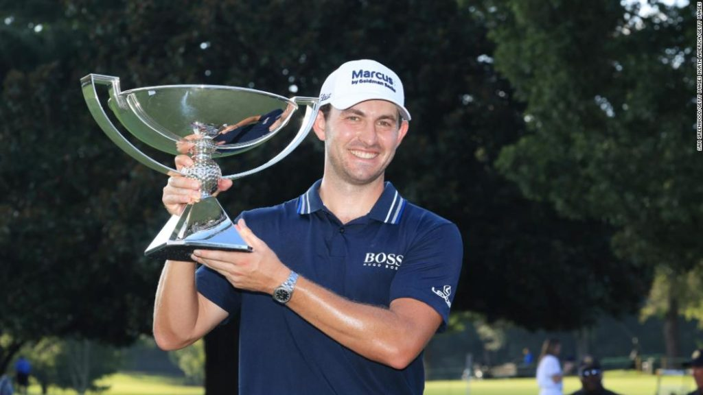 Patrick Cantlay draws on 'self-belief' as he wins golf's $15 million FedEx Cup and Tour Championship