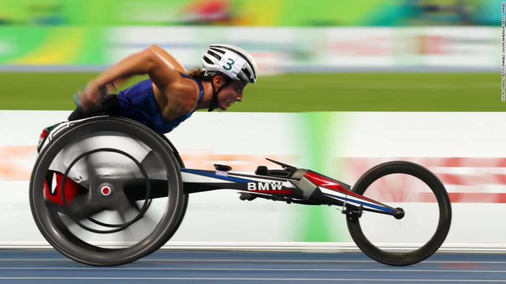 Tatyana McFadden: 17-time Paralympic medalist happy to be back after 'scariest moment of career'