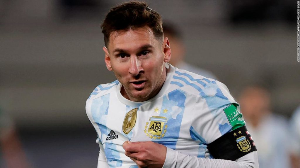 Lionel Messi surpasses Pelé to become South America's top international goal scorer in men's football
