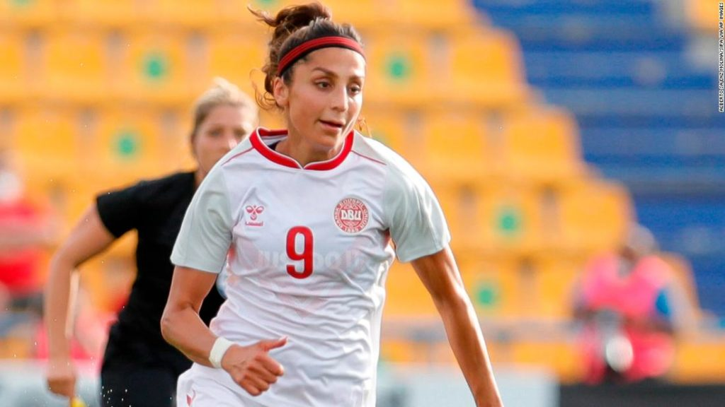 Nadia Nadim: 'I'm actually the picture of everything the Taliban don't want their women to be'