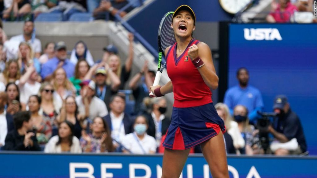 US Open: Emma Raducanu beats Leylah Fernandez in women's final