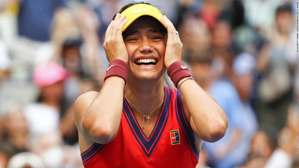 Emma Raducanu: The Queen praises 'outstanding' US Open victory