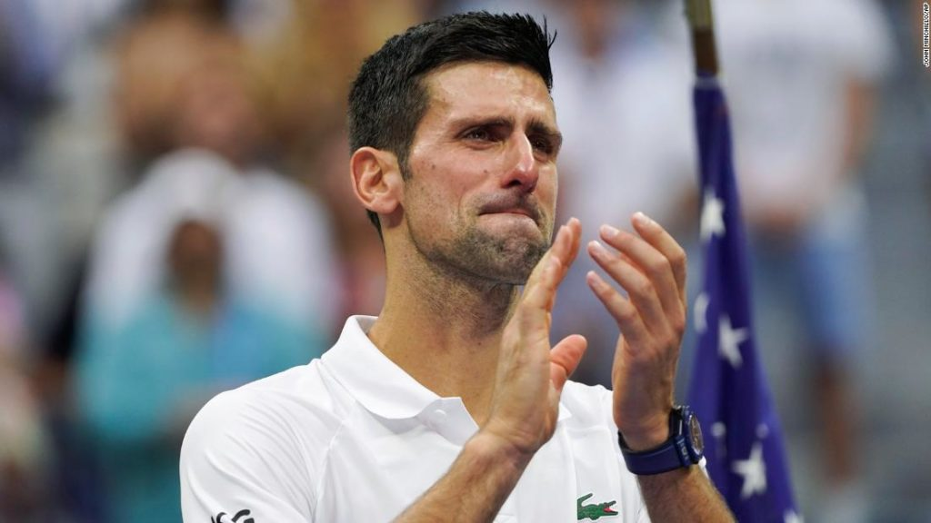 Novak Djokovic's tears, Daniil Medvedev booed during sets and history denied: A US Open final for the ages