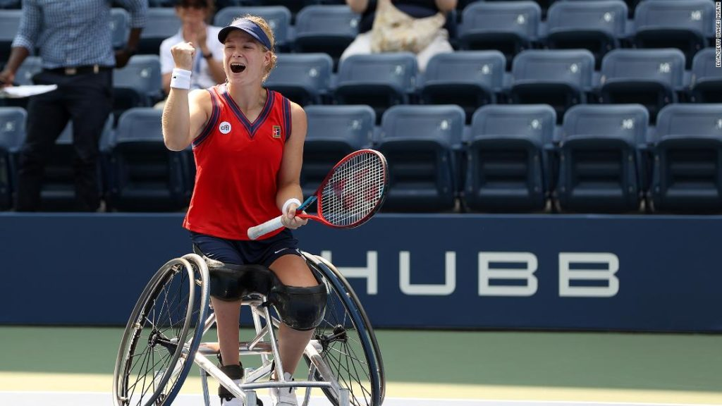 Diede de Groot becomes the first player to complete the golden slam in wheelchair tennis
