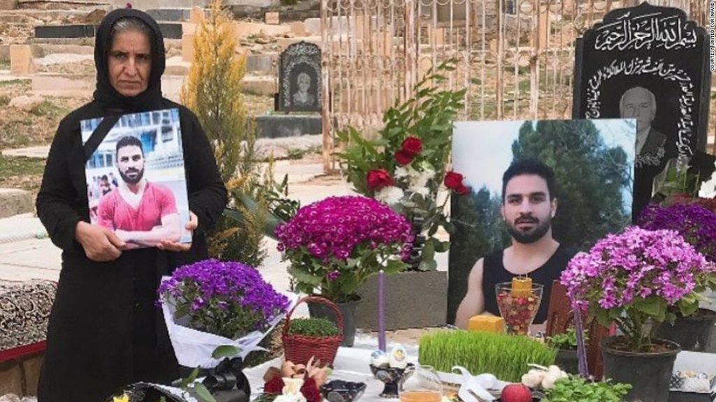 Navid Afkari: Executed Iranian wrestler still offers 'message of freedom,' says mother