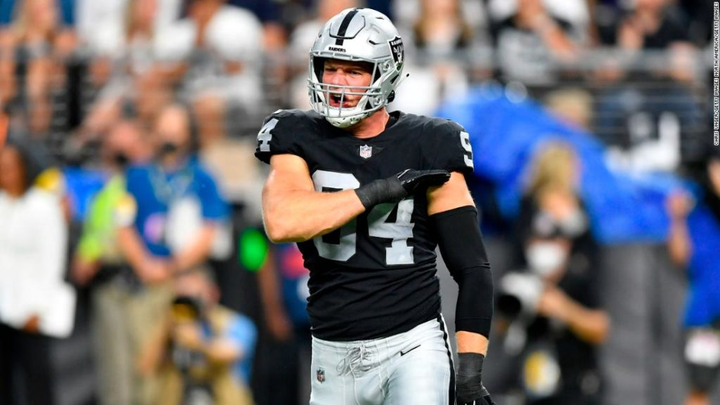Raiders beat Ravens in thriller game as Carl Nassib makes NFL history