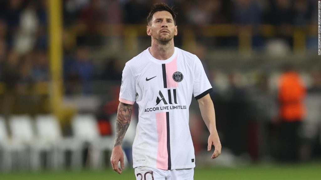 PSG: Lionel Messi's Champions League debut for French giants falls flat against Club Brugge