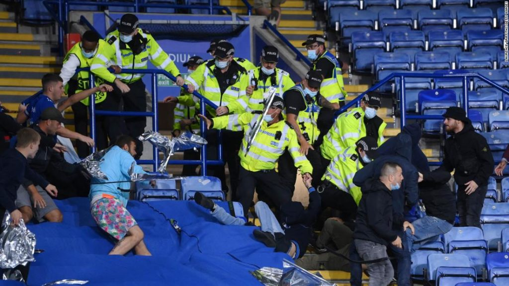 Leicester City vs. Napoli: Multiple arrests made as fans clash
