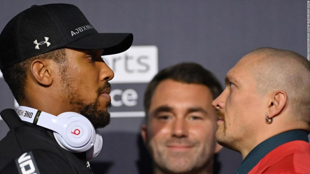 Anthony Joshua: 'Power is in your spirit,' says challenger Usyk ahead of showdown