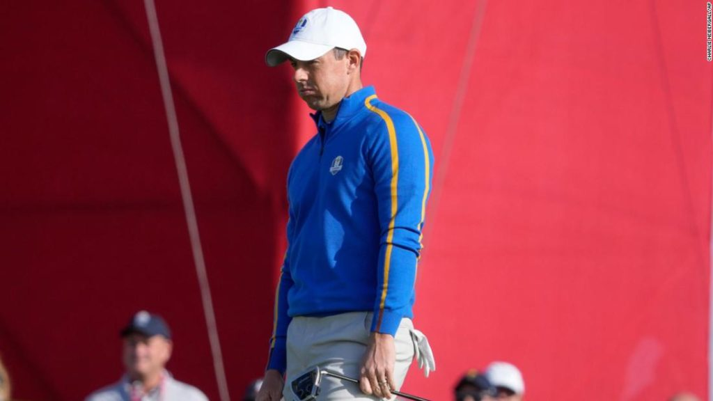 Ryder Cup: Tearful Rory McIlroy 'should have done more' as Europe suffer record-breaking defeat