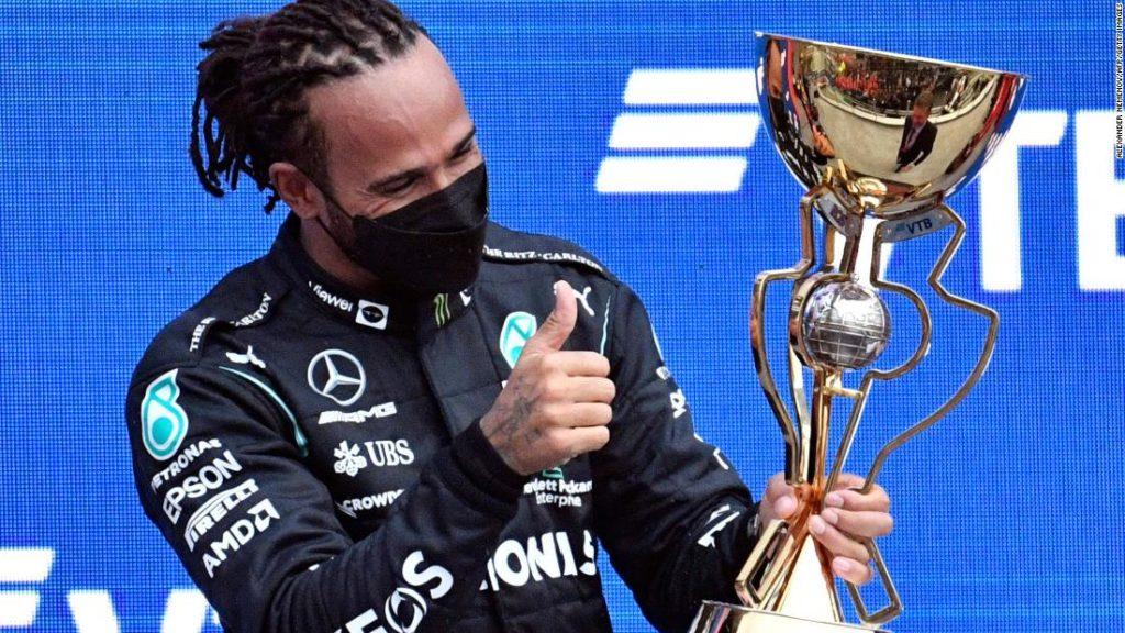 F1 results: Lewis Hamilton claims historic 100th Formula 1 victory at Russian Grand Prix