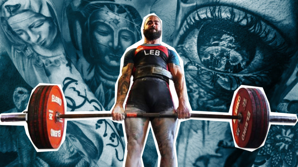 'Every single time I lift the bar, I'm just lifting my country up': Shiva Karout's quest for powerlifting glory