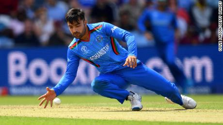 """Rashid Khan, who captains the Afghanistan Twenty20 side, said his """"country is in chaos."""""""